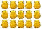 Citronella Kerzen im Glas Windlichtglas Partylicht 15 Stück