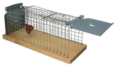 Lebendfalle Tierfalle Käfigfalle Drahtkastenfalle XL für Ratten oder Mäuse 30 cm Länge