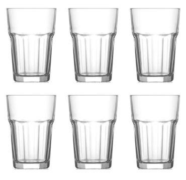 Trinkglas Cocktailglas Caipirinha Glas Transparent oder Farbig sortiert 300 ml  – Bild 2