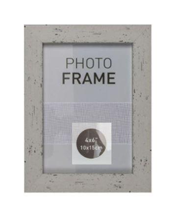 Bilderrahmen Fotorahmen Kunststoff Rahmen in Holz vintage Optik für Bildformat 10 x 15 cm 1 Stück – Bild 7
