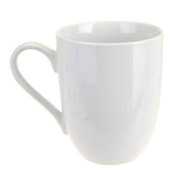 Kaffeebecher Kaffeetasse Porzellan Weiß mit Henkel 6 Stück Set Modell-Auswahl – Bild 4