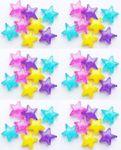 Eiswürfel Dauereiswürfel Sterne farbig zum Kühlen von Getränken und Cocktails 48 Stück 001