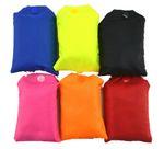 Einkaufstasche Tragetasche Beutel faltbar wiederverwendbar Unifarben sortiert 20 Stück Set 001