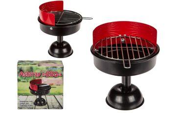 Aschenbecher Sturmaschenbecher Windaschenbecher Ascher Metall Grill BBQ Design 1 Stück