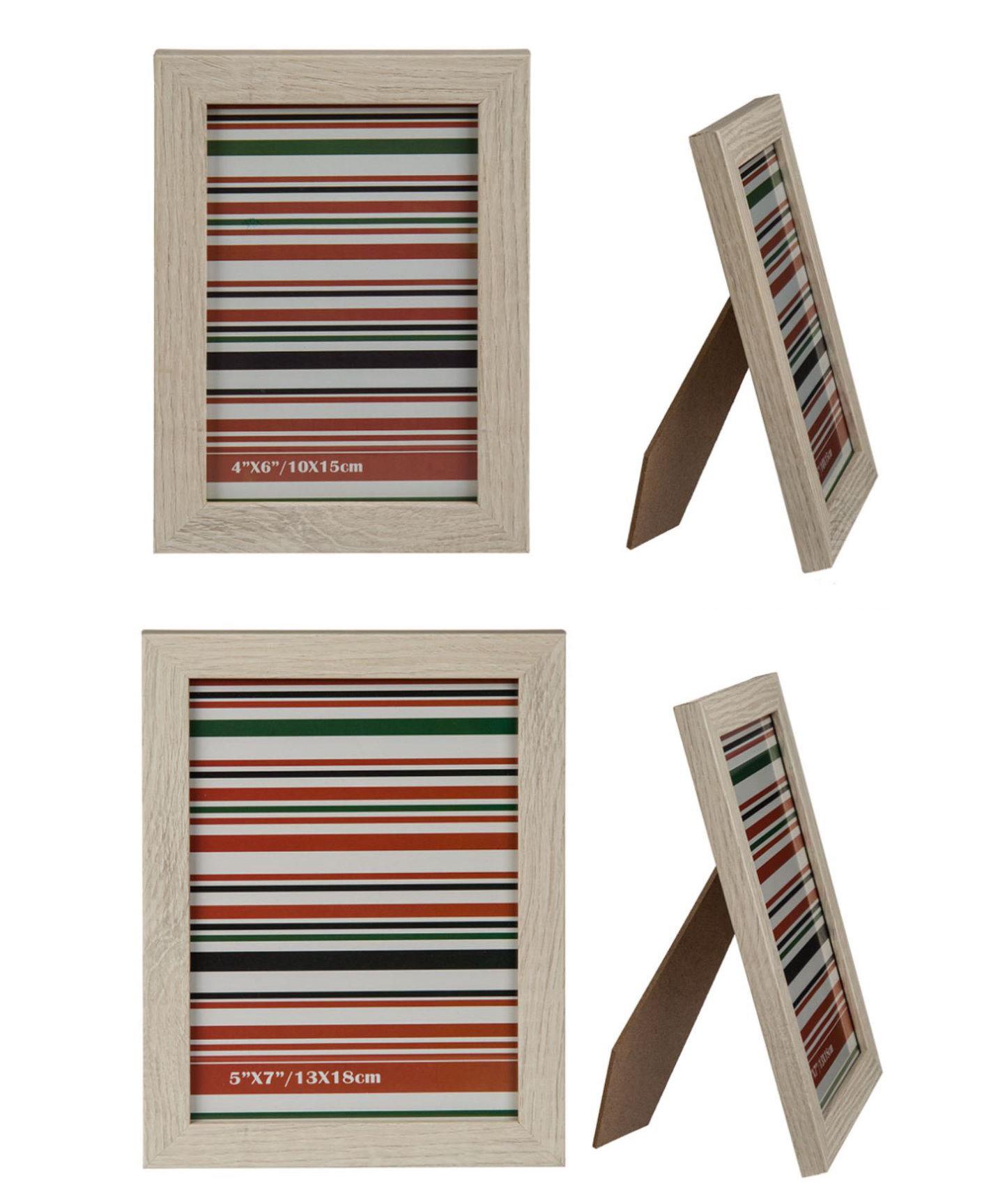 Bilderrahmen Fotorahmen Holz Rahmen 1 Stück Auswahl Bildformat Heim ...