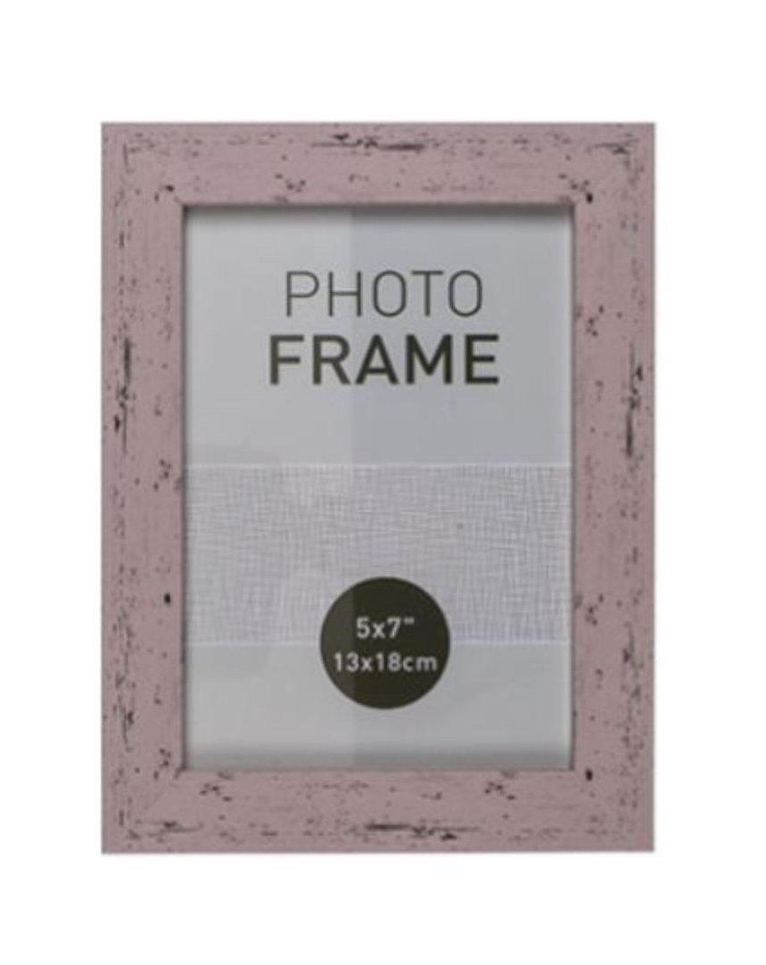 Bilderrahmen Fotorahmen Kunststoff Rahmen in Holz vintage Optik für ...