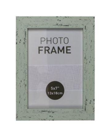 Bilderrahmen Fotorahmen Kunststoff Rahmen in Holz vintage Optik für Bildformat 13 x 18 cm 1 Stück – Bild 4