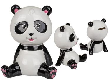 Spardose Geldspardose Sparbüchse Gelddose im Panda Design Keramik 1 Stück