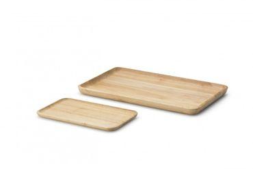 Tablett Holz rechteckig Continenta – Bild 2