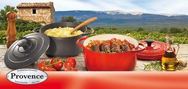 Bratentopf oval Provence 33 cm rot Küchenprofi – Bild 2