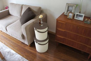Eimer mit Deckel 20 Liter Ivory Hachiman – Bild 2