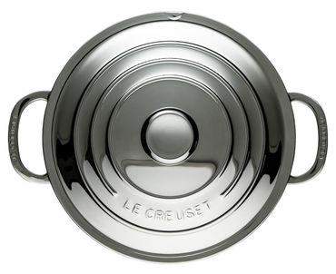 Bratentopf 3-ply Plus 24 cm Edelstahl Le Creuset – Bild 3