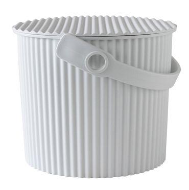 Eimer mit Deckel 10 Liter weiss Hachiman – Bild 1