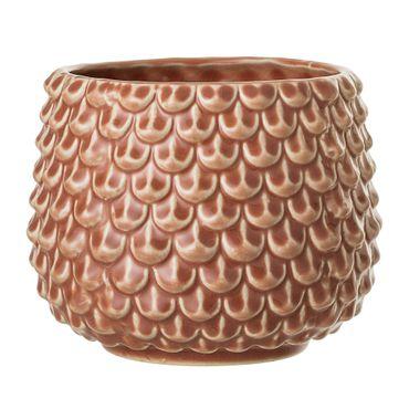 Vase orange Keramik Bloomingville – Bild 1
