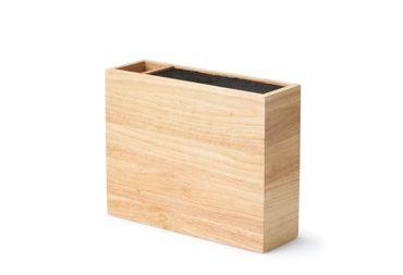 Messerblock Holz mit flexiblem Einsatz Continenta  – Bild 3