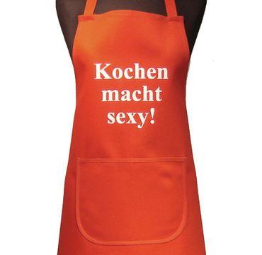 Schürze rot  Kochen macht sexy Dieckmann – Bild 3