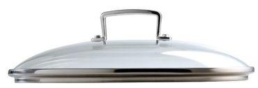 Aluminium Fleisch-und Gemüse Topf mit Glasdeckel 18 cm Le Creuset – Bild 6