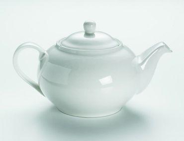 Teekanne 6 Tassen Round White Basics Maxwell & Williams