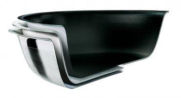 WOK 3-ply antihaft 30 cm mit Glasdeckel Le Creuset – Bild 5
