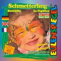 SCHMETTERLING, Nr. 24511 - Profi-Schminke Eulenspiegel – Bild 2