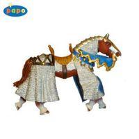 Pferd mit Panzerhemd, blau Papo ® Figuren Nr. 39930 – Bild 2