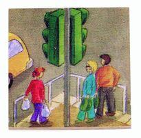 Puzzle-Lotto TRANSPORT aus Holz / Beleduc 16206 – Bild 8