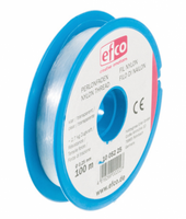 Perlonfaden Nylon 100 m 0,25 mm transparent