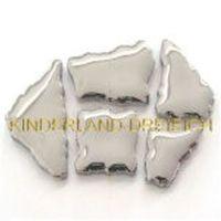 SILBER DELUXE F60b - Flip Keramik Porzellan Mosaik, Mosaiksteine – Bild 1