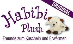 STEINBOCK schwarz weiß - Habibi Plush® / Wärmekuscheltier – Bild 2