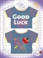 T-Shirt Good Luck Nr. 14 - Schneidern mit Grußkarte - Dress Your Doll