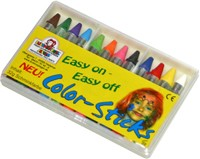 12 COLOR-STICKS / Profi-Schminke Eulenspiegel – Bild 1