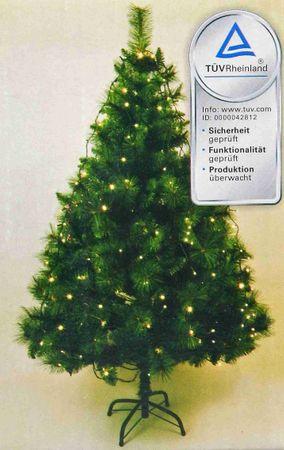 LED Lichterkette 192 LEDs Weihnachtsbaumbeleuchtung – Bild 1