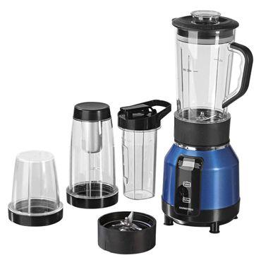 Gourmetmaxx Nutrition Mixer Pro 1200 Watt blau