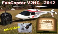 RTF FunCopter V2 mit Helicommand 3A robbe / Multiplex