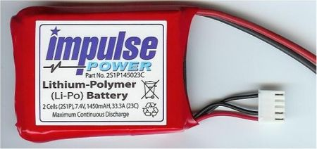 Impulse LiPoly 2N 7,4V  1450mAh 23C