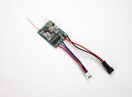 Spektrum AR6410 DSMX 6-Channel Ultra Micro Empfänger mit Servos & Regler