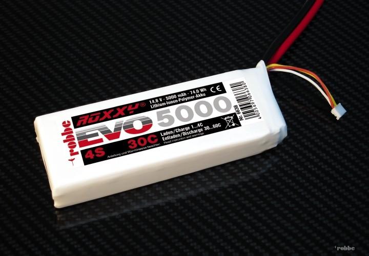 LiPo-Akku 4S 5000 mAh ROXXY® Evo 30-60C EHR