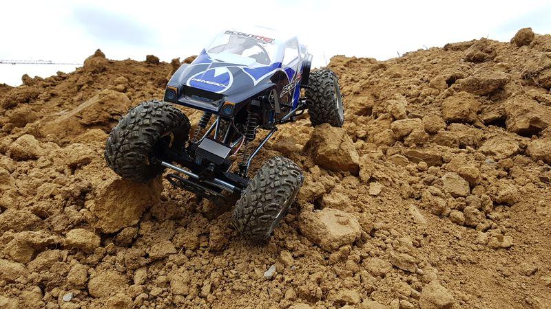 Scout RC Rock Crawler 1:10 RC RTR 4WD