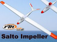 FTR Salto V-Tail EDF Impeller Brushless, Regler, Servos, 1800mm