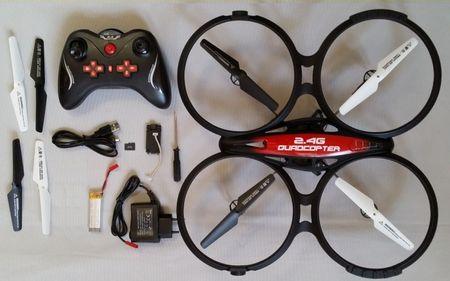 RC Quadrocopter 2.4G RTF mit HD-Kamera