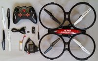 RC Quadrocopter 2.4G RTF mit HD-Kamera