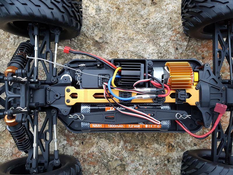 DesertTruck Nr.4 RTR Set 3057 4WD