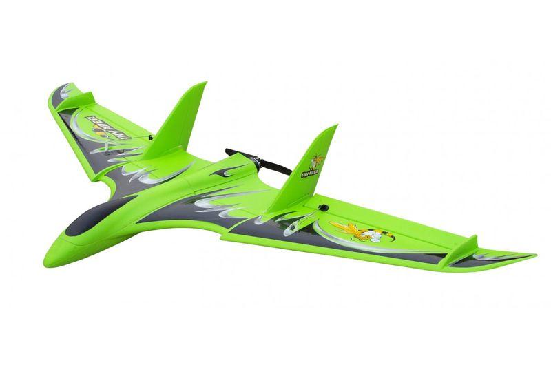 Delta Nurflügler 72cm, BL- Motor, 2 Servos, 100Km/h