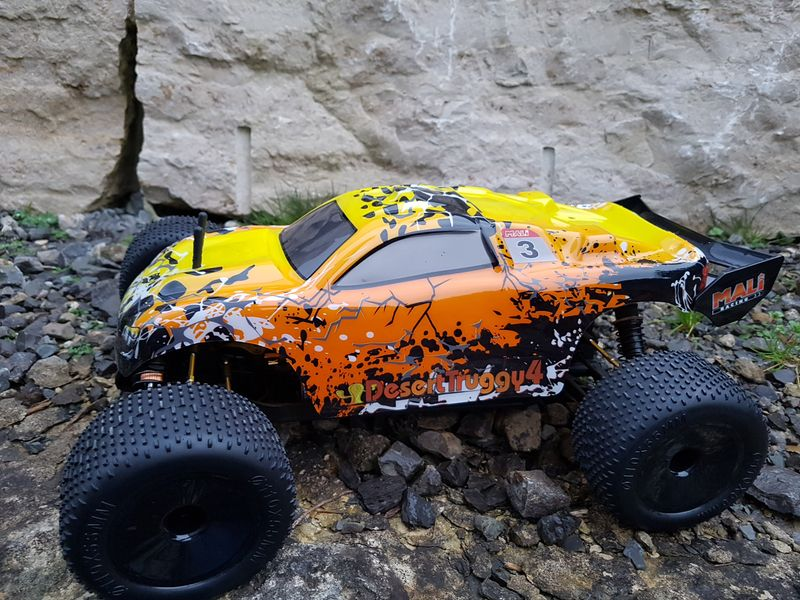 DesertTruggy 4.1 RTR Brushed 1/10 Nr.3054