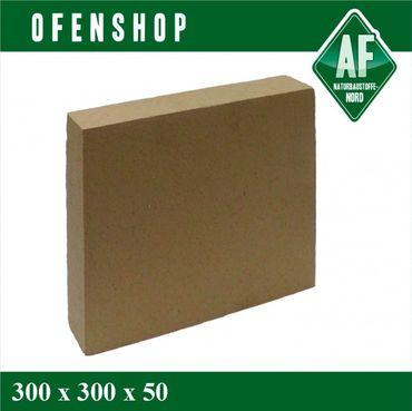 300x300x50 Kandern Backofenplatte Schamotte