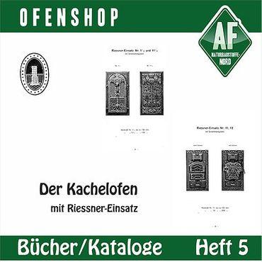 Katalog Kachelofen mit Riessner Einsatz Ofen – Bild 1