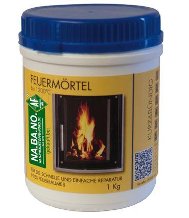 Ortner Feuermörtel 1kg Reparaturmörtel