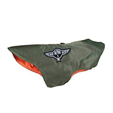 Alpha Industries MA-1 Nylon Flight Hunde Jacke