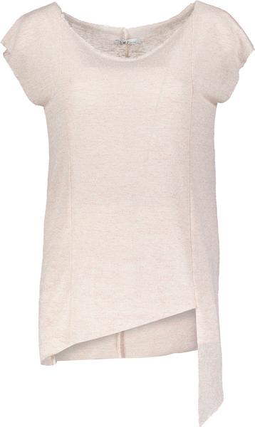 Denim Deluxe T-Shirt Damen Neuheit Rosé Top