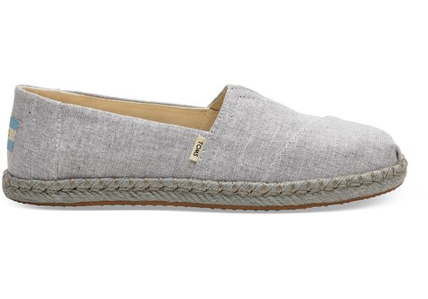 Toms Chambray On Rope Classic Damen Schuh